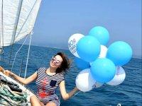 день рождения на яхте, Приморье г.Находка